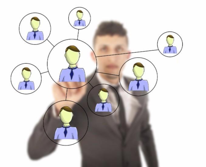 Businessman networking online: SEOLegal Social Media Blog