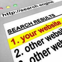 Search engine browser window showing top results: SEOLegal Law Firm Technology Blog