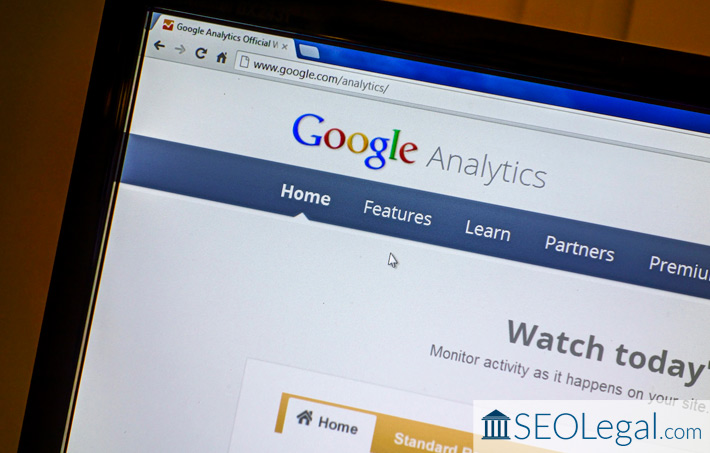 how law firms can use google analytics